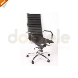 Krzesło biurowe, skórzane, fotel biurowy, meble biurowe....