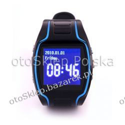 Zegarek z telefonem GSM + Lokalizator GPS