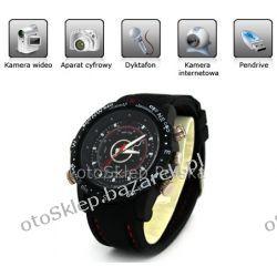 Zegarek szpiegowski ALWT902F z kamerą HD + Aparat + 32GB Biżuteria i Zegarki