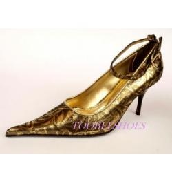 TooBeeShoes brązowe włoskie czółenka 40