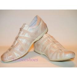 BRAKO buty SPORTOWE 38 skórzane OKAZJA beżowe