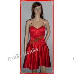 sukienka Pretty Women Pola czerwona