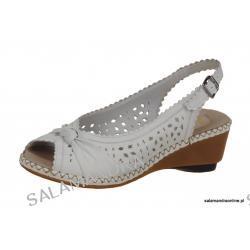 Sandały damskie Rieker 66176/80 weiss