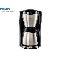 Ekspres przelewowy PHILIPS ThermInox HD 7546 / 20 (1.2 l / 1000 W, czarno srebrny)