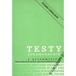 Testy sprawdzające z przedmiotów matematyczno