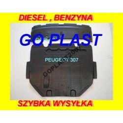 OSŁONA SILNIKA POD SILNIK + ZDERZAK PEUGEOT 307