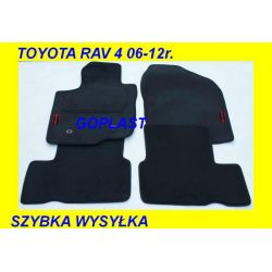 TOYOTA RAV 4 RAV4 06-12r. DYWANIKI WELUR GRAF