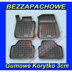 BMW X1 E84 od 2009 DYWANIKI GUMOWE KORYTKO 3cm Gumowe