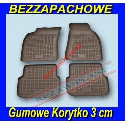 AUDI A6 C6 2004-2011 DYWANIKI GUMOWE KORYTKO 3cm Gumowe