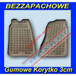 FORD TRANSIT V VI 6 5 DYWANIKI GUMOWE KORYTKO 3cm Gumowe