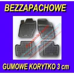 PEUGEOT 301 od 2012 DYWANIKI GUMOWE KORYTKA 3cm Gumowe