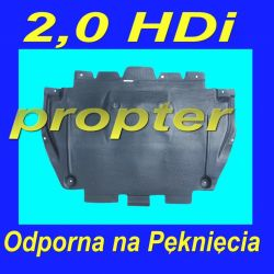 CITROEN C5 2,0 HDi od 2008 DOLNA OSLONA SILNIKA