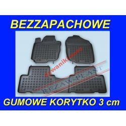 TOYOTA RAV4 4 od 2013 DYWANIKI GUMOWE KORYTKA 3cm Gumowe