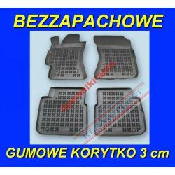SUBARU XV od 2012 DYWANIKI GUMOWE KORYTKA 3cm Gumowe