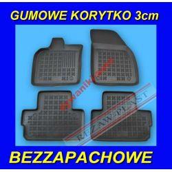 VOLVO C30 od 2007 DYWANIKI GUMOWE KORYTKA 3cm Gumowe