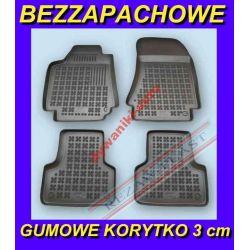 ALFA ROMEO 159 od 2006 DYWANIKI GUMOWE KORYTKO 3cm Gumowe