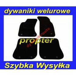 SKODA OCTAVIA 2 DYWANIKI WELUROWE CZARNE + GRATIS Gumowe