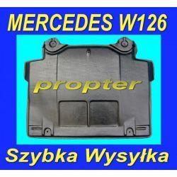 MERCEDES W126 SE SEL SEC OSLONA SILNIKA POD SILNIK Gumowe