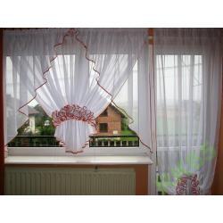 FIRANA Z WOALU Z ŻABOCIKIEM - karn.3m-okno+balk.