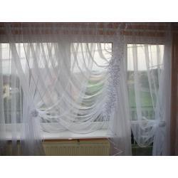 FIRANA Z KRESZU LUB Z WOALU - karn. 3m-okno+balk.