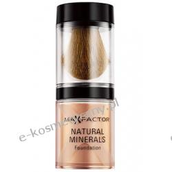 Max Factor Natural Minerals Foundation - Podkład mineralny sypki - odcień nr 60 sand - piaskowy