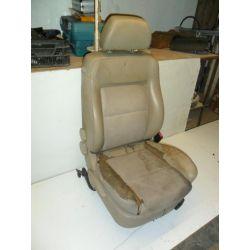 Fotel prawy pasażera skóra banan Passat B5 96-00r