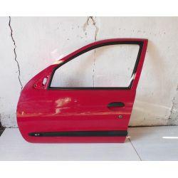 Drzwi przód lewy kolor ROT Renault Megane 96-99r. Drzwi