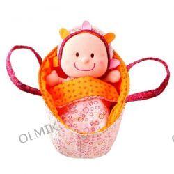 Baby Eline Lalka szmacianka w nosidełku Lilliputiens