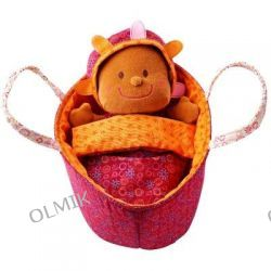 Baby Lea Lalka szmacianka w nosidełku Lilliputiens