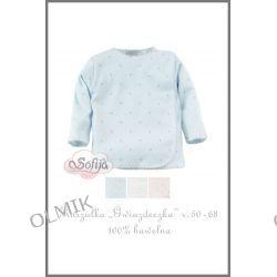 Koszulka GWIAZDECZKA niebieska rozm. 62 Sofija