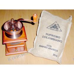 Supremo Colombiano 250g + Młynek ręczny