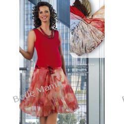 Zwiewna i lekka sukienka ciążowa