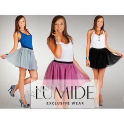 Lumide: Spódnica tiulowa mini, idealna na balet