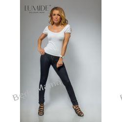 """Lumide: Spodnie rurki biodrówki """"jeans"""""""