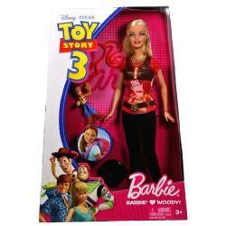 BARBIE KOCHA TOY STORY 3 + CHUDY (WOODY)