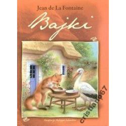 Bajki Jean de La Fontaine NOWA TWARDA