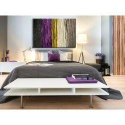 Obraz do salonu lub sypialni z fioletowym akcentem