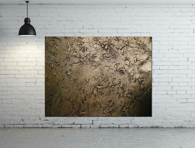 duży złoty obraz