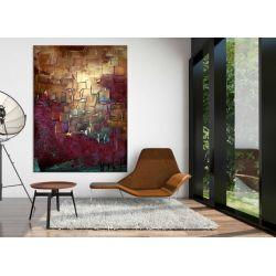 duże obrazy na zamówienie - ekskluzywne dekoracje ścienne - do restauracji, apartametów, loftów, salonu z antresolą