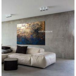 Industrialna abstrakcja - abstrakcyjne obrazy do modnego salonu