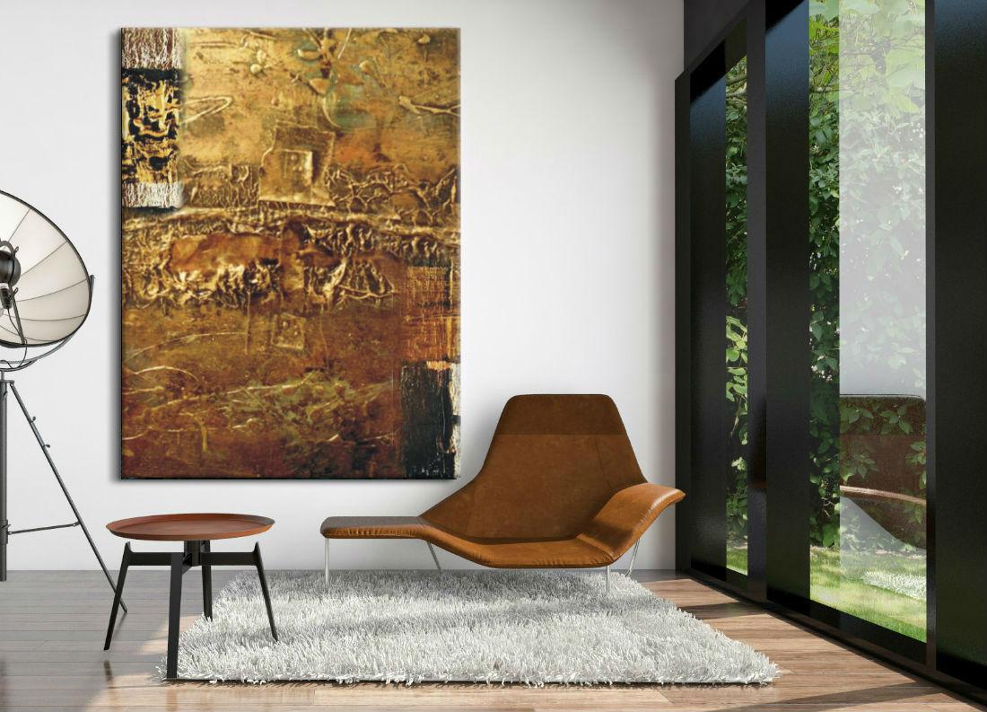 absrakcyjny obraz ręcznie malowany