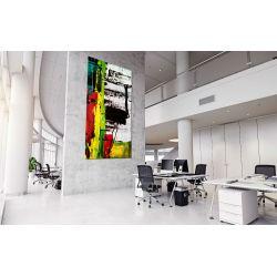 """Obrazy abstrakcyjne na ścianę """"kontrastowa abstrakcja"""""""