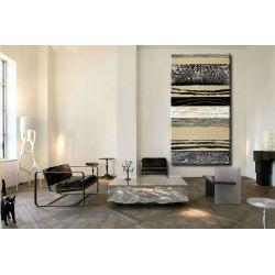 Etniczna inspiracja - Modny obraz na ścianę 80x170cm / obrazy do salonu