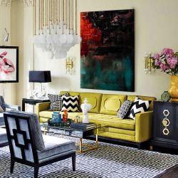 Awangardowe barwy - Modny obraz na ścianę | obrazy do salonu