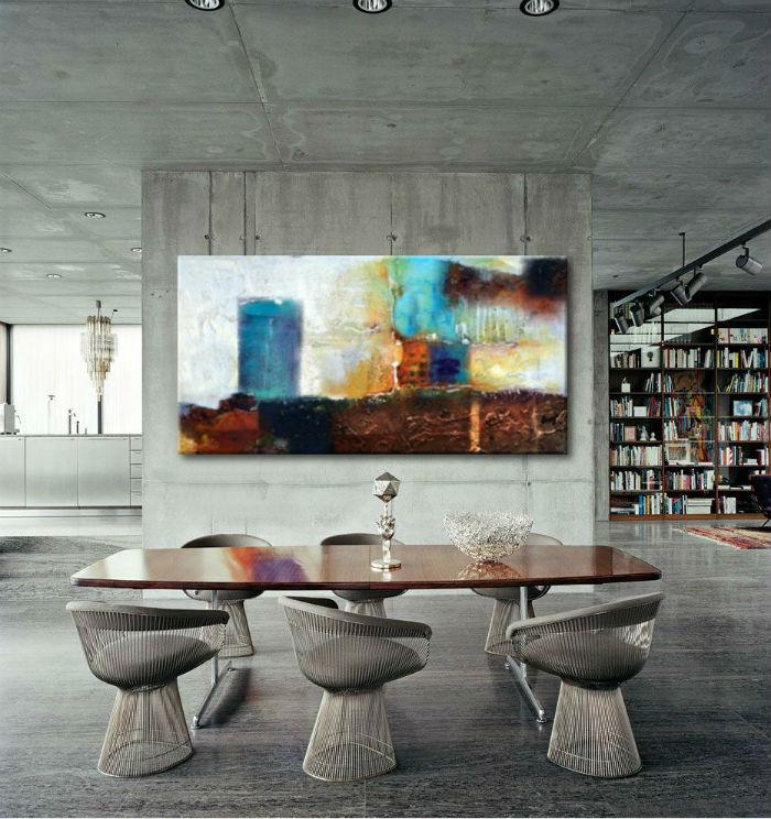 obrazy nowoczesne do salonu