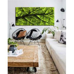 liść czy drzewo - abstrakcyjny obraz na ścianę 80x170cm | obrazy do salonu