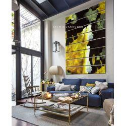 Kontrastowa abstrakcja - ogromny obraz wielkoformatowy 200x150cm na dużą przestrzeń