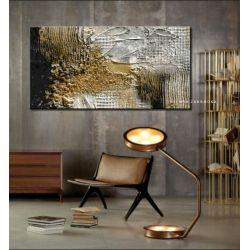 Burza piaskowa - abstrakcyjne obrazy do modnego salonu