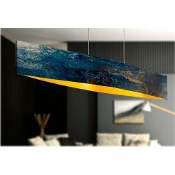 ARTISTICCA - Artystyczna ekskluzywna LAMPA SUFITOWA duża do loftu