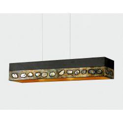 AMARA - Artystyczna ekskluzywna LAMPA SUFITOWA duża do loftu